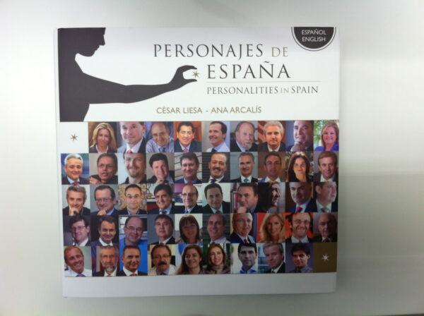 Libro 'Personajes de España'
