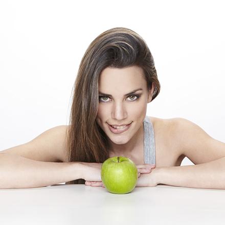 manzana para el aliento fresco